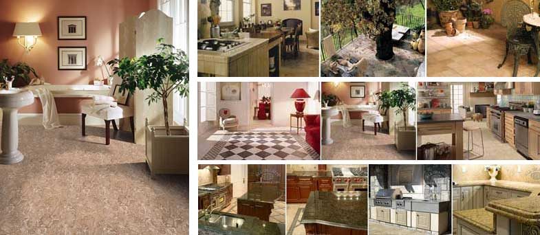 All Star Flooring Center tiles, granite and stone